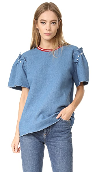 Mother of Pearl Chelsea Top