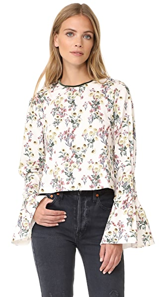 Mother of Pearl Miller Top