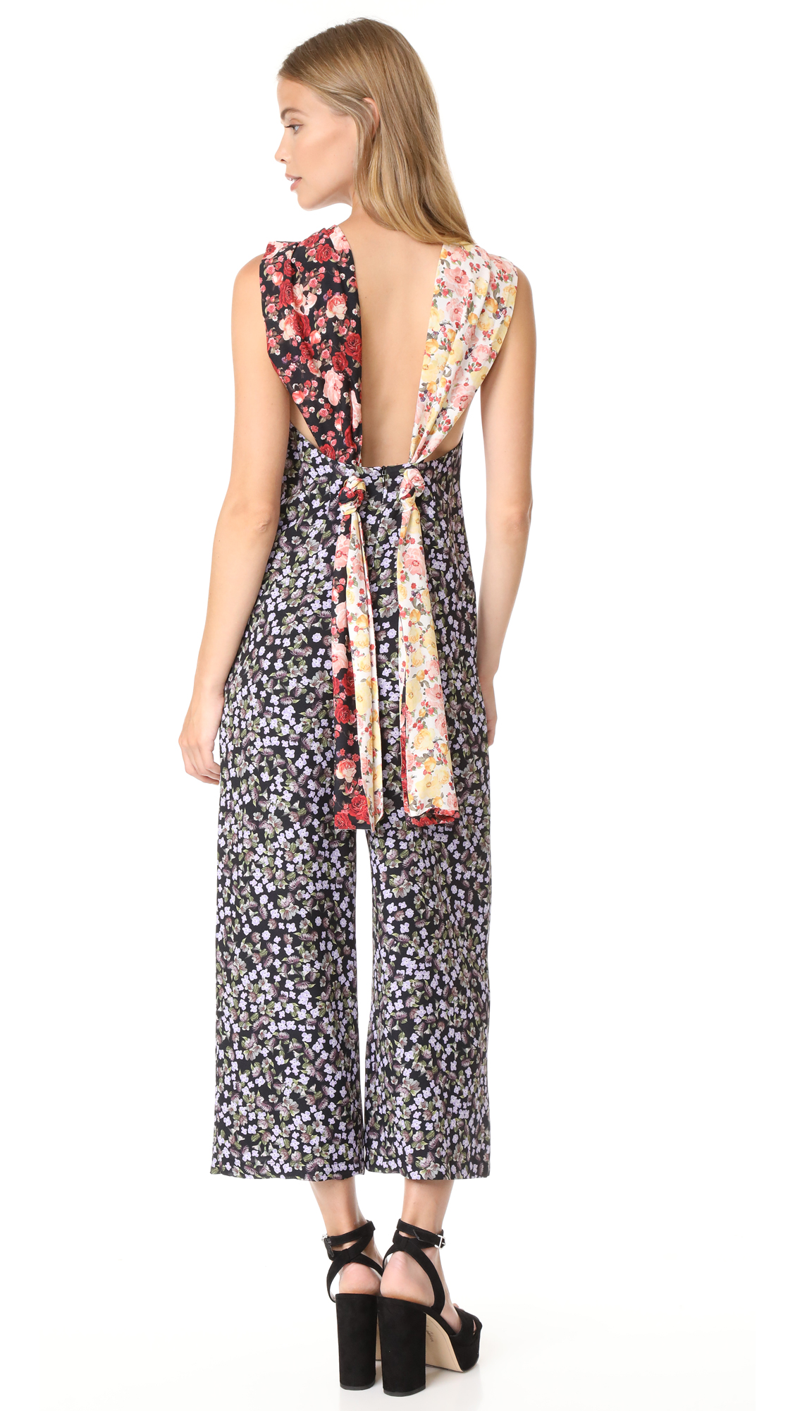 Mother of Pearl Freya Jumpsuit - Mixed Print