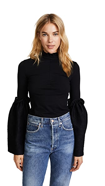 Mother of Pearl Esther Top In Black