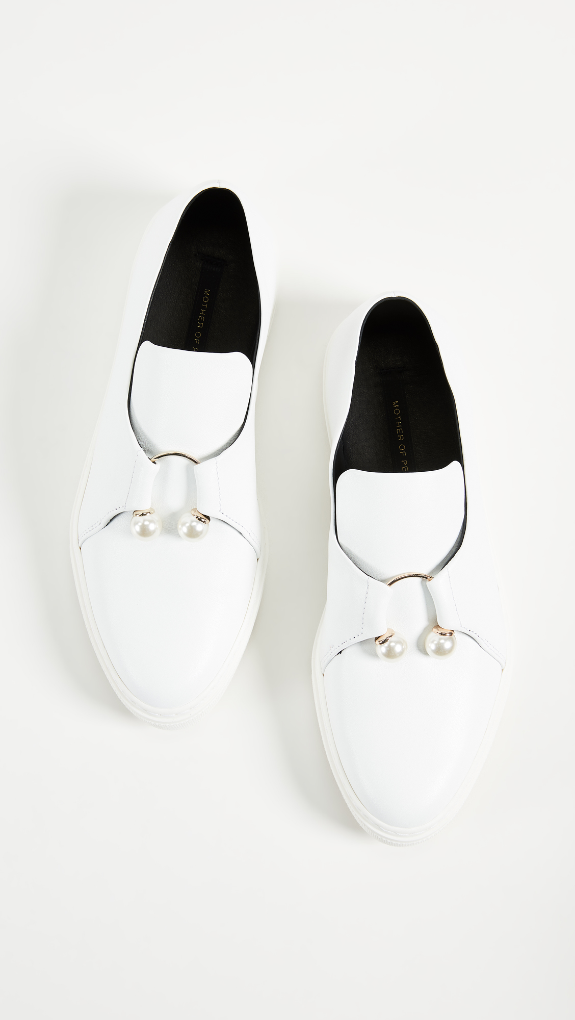 Mother of Pearl FLETCHER - Slip-ons - white Seyy2s0