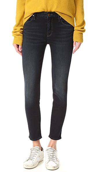 MOTHER The Cropped Looker Skinny Jeans