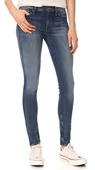 MOTHER The Looker Skinny Jeans - Tequila Truth