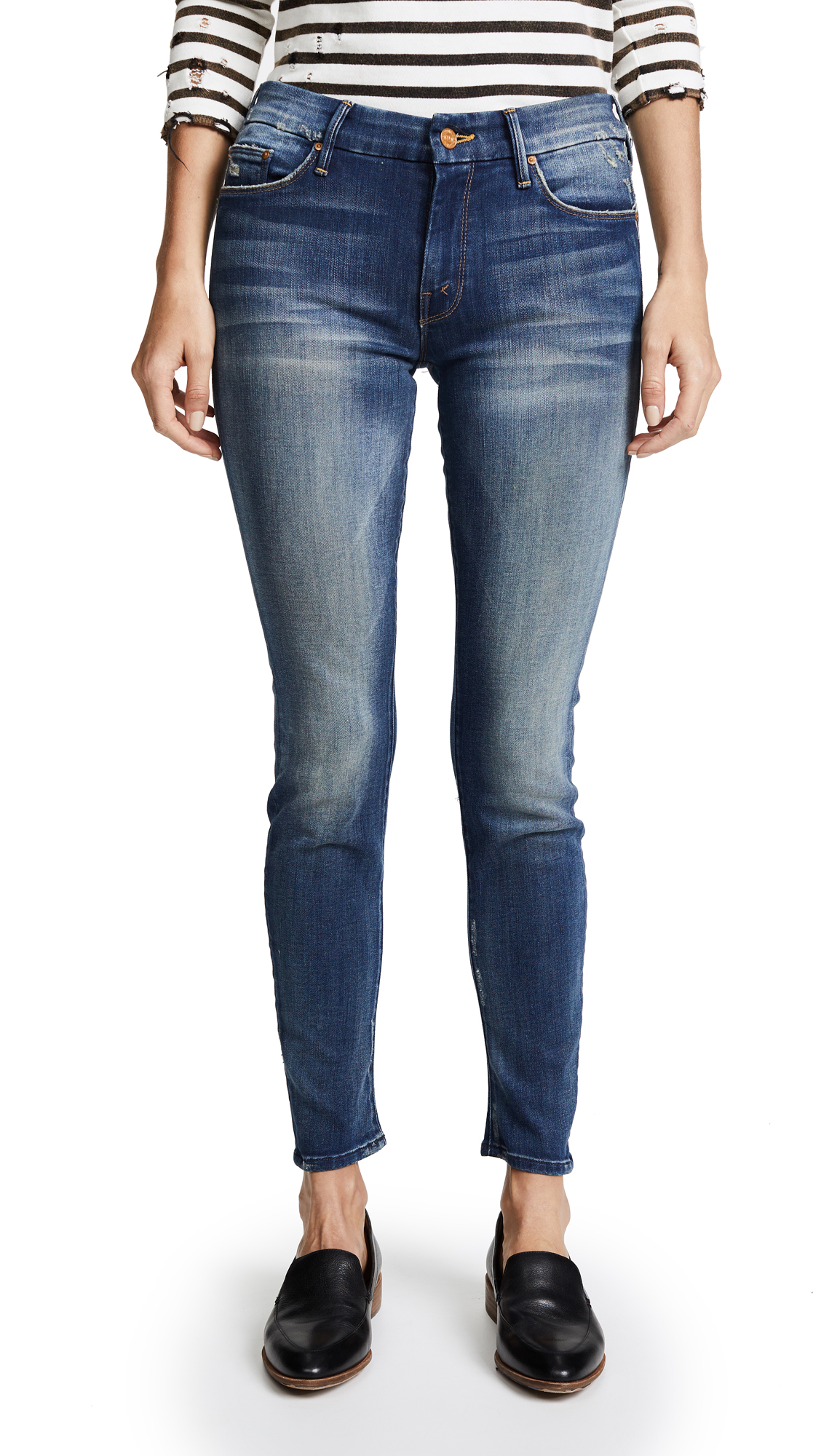 Buy MOTHER online - photo of MOTHER The Looker Skinny Jeans
