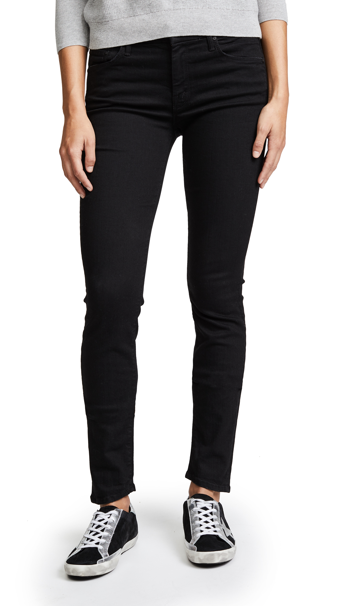 MOTHER The Looker Skinny Jeans - Not Guilty
