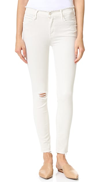 MOTHER The Double Fray Charmer Jeans