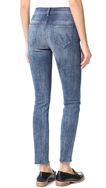 MOTHER Fly Cut Stunner Fray Jeans
