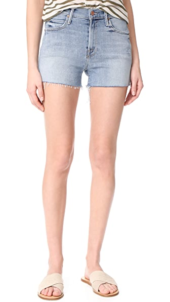 MOTHER HW Rascal Fray Shorts - Chatterbox