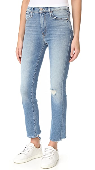 MOTHER High Waist Rascal Ankle Jeans - Love Gun