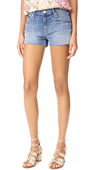 MOTHER Teaser Step Fray Shorts - Lucky Strike