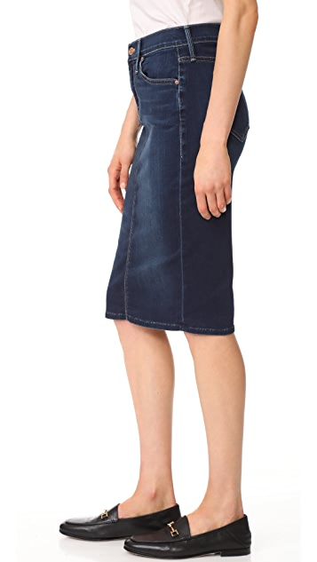 MOTHER The Peg Slit Skirt