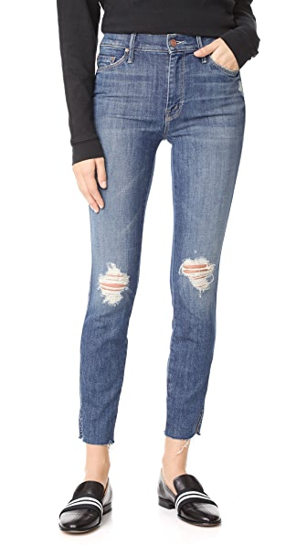 MOTHER The Vamp Fray Skinny Jeans - Crazy Like a Fox