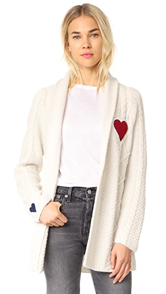 MOTHER The Fisherman Cardigan In Cozy