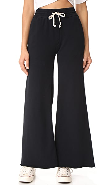 MOTHER Lounger Roller Weekender Pants - Black