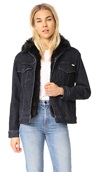 MOTHER The Furry Drifter Jacket