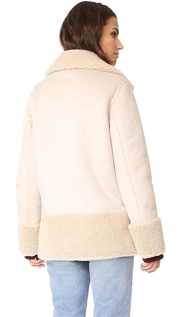 MOTHER Sherpa Jacket