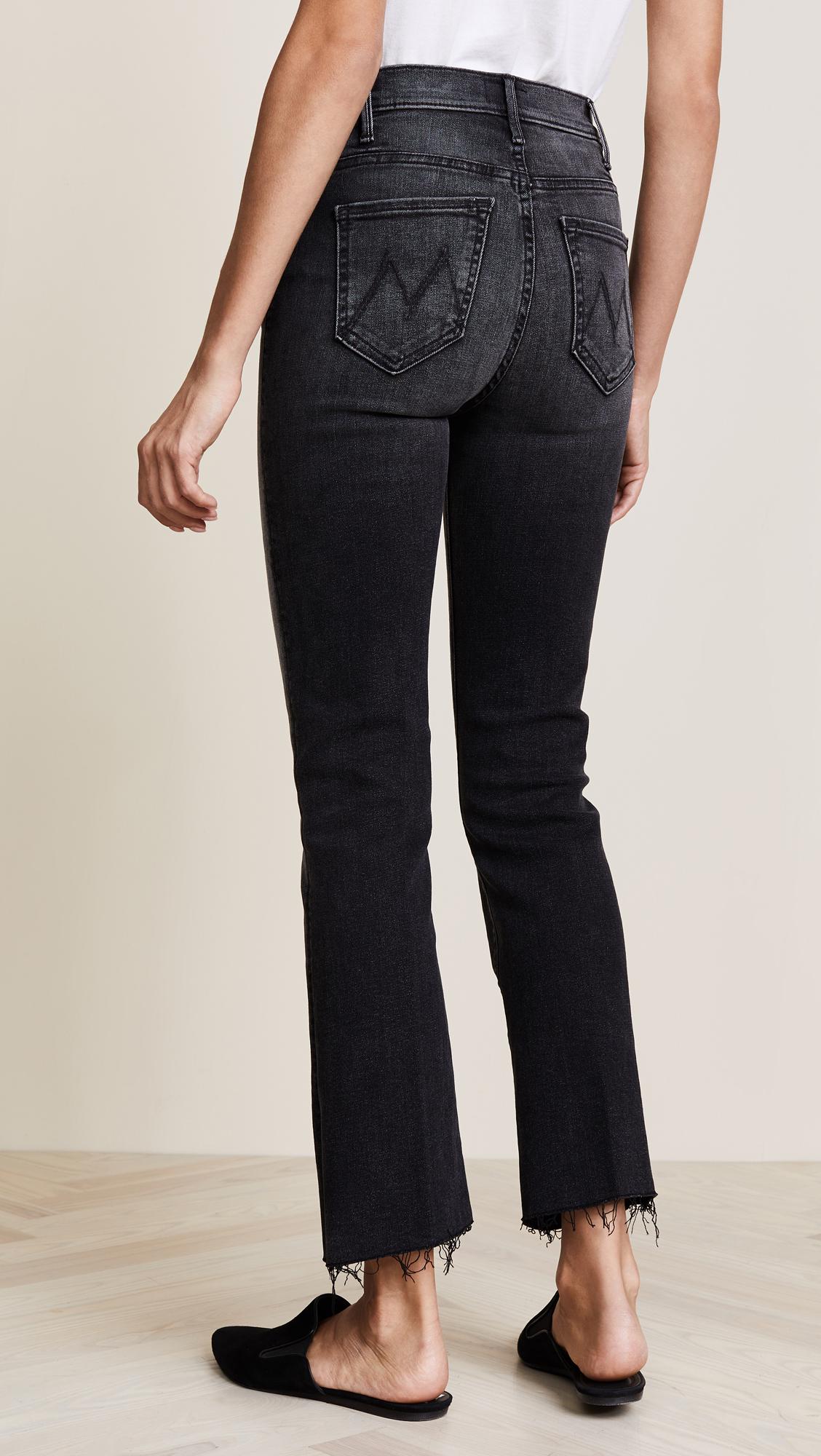 a9355efd148 MOTHER The Hustler Ankle Fray Jeans | SHOPBOP