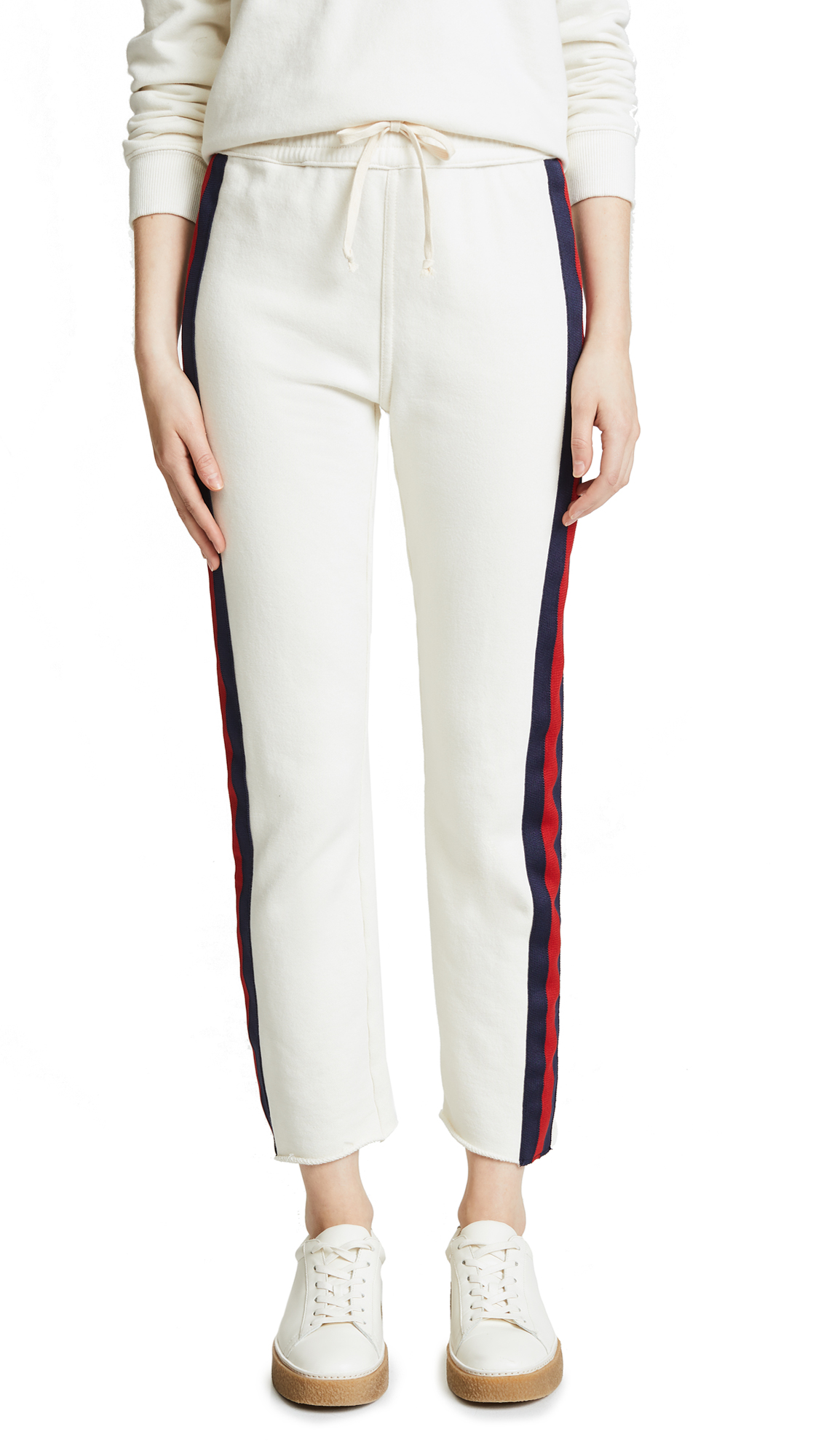 MOTHER Slim Gym Fray Pants - Out Of Your League