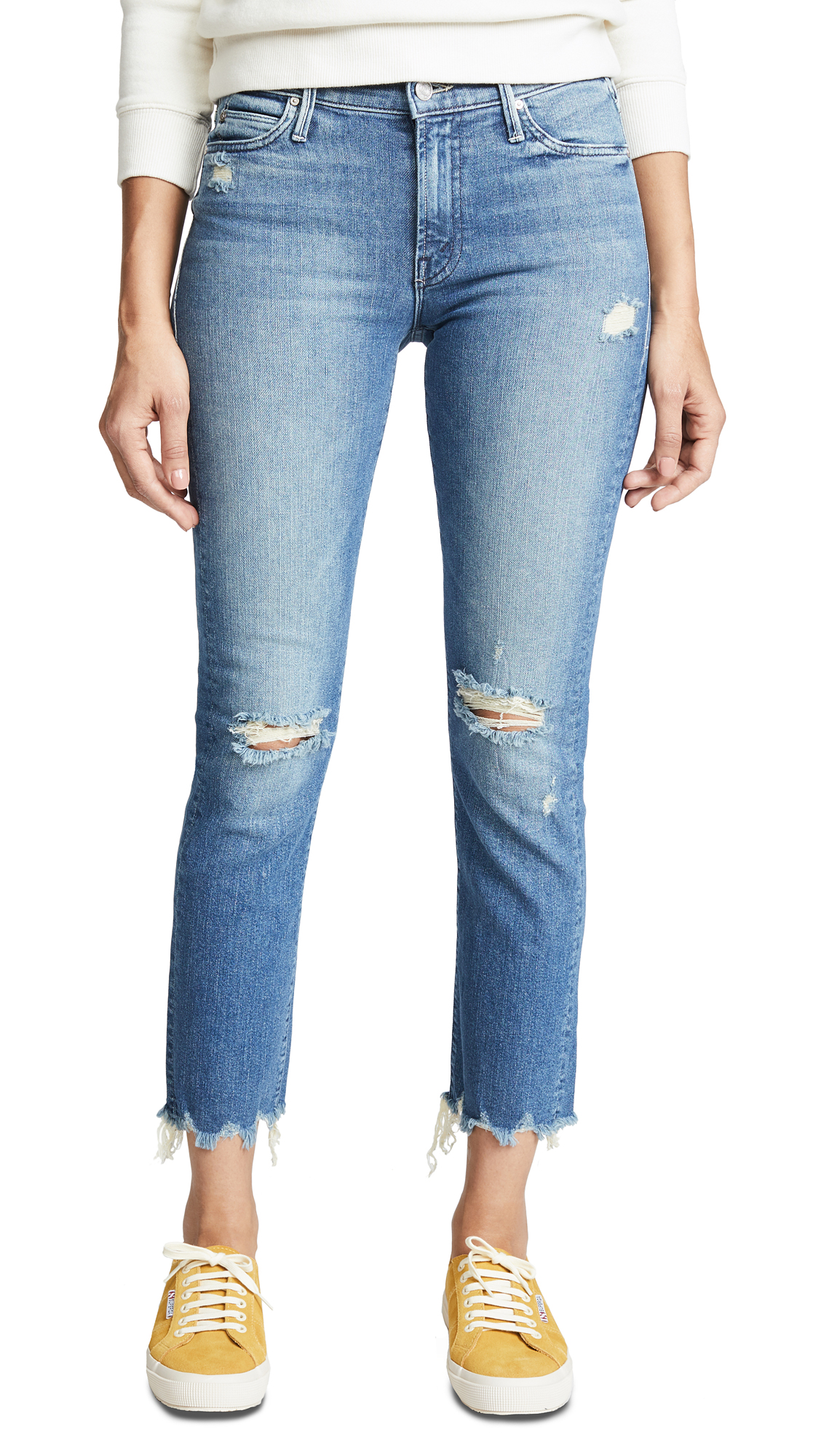THE RASCAL ANKLE CHEW JEANS