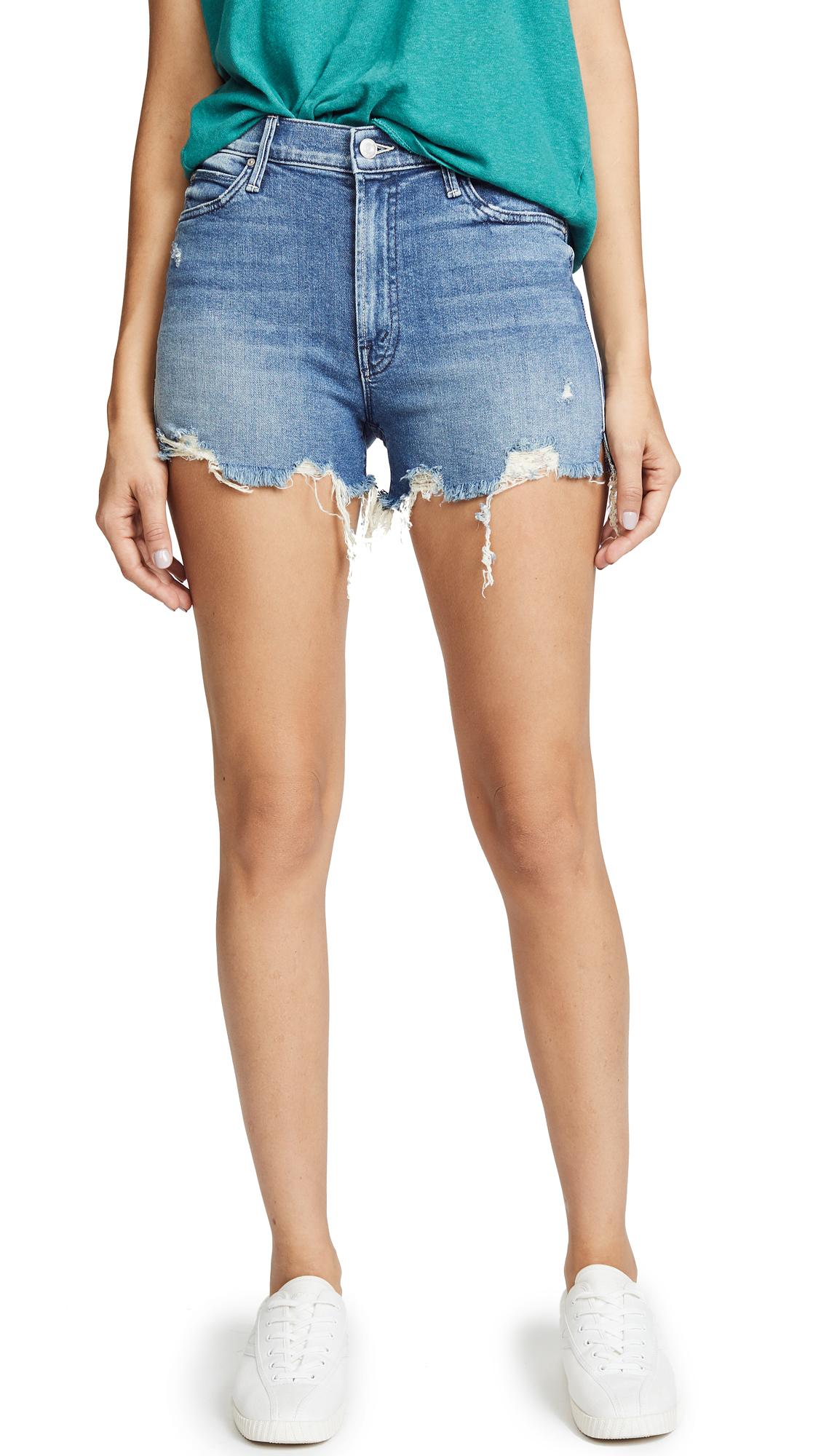 MOTHER High Waist Rascal Shorts
