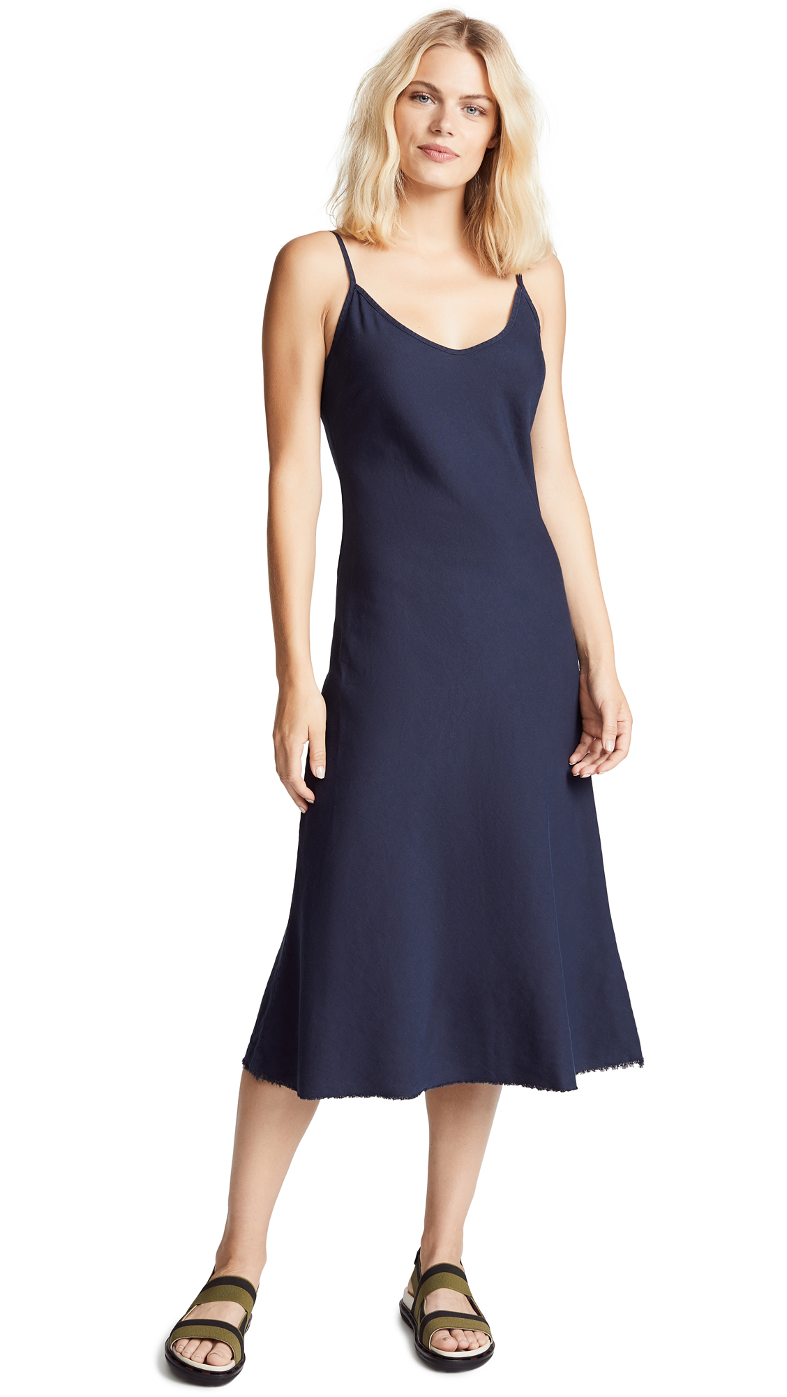 MOTHER The Slip Up Dress