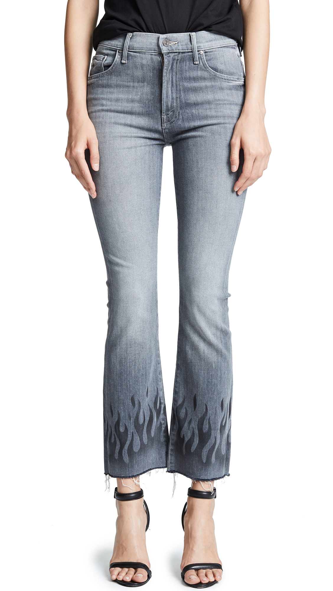 THE INSIDER ANKLE FRAY JEANS