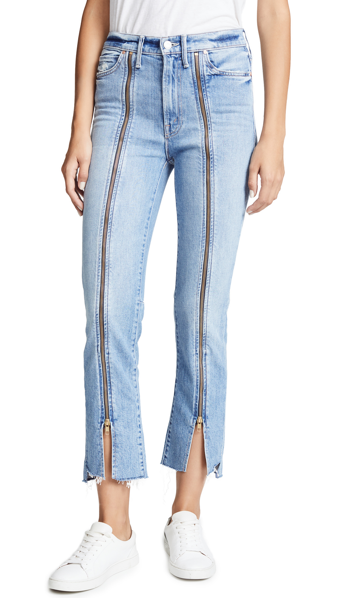 MOTHER High Waisted Rascal Misbeliever Jeans In Misbeliever