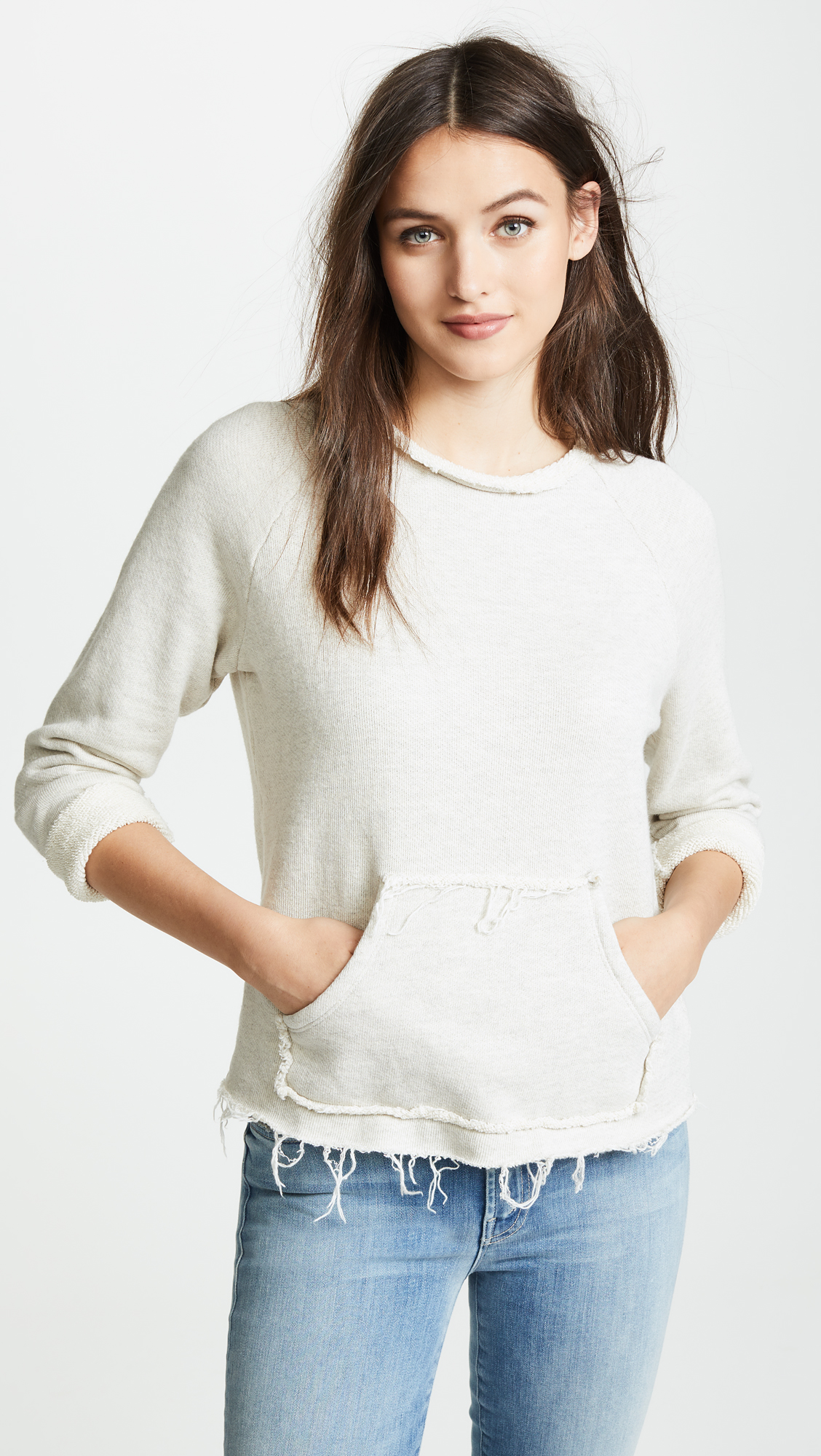 Mother The Kangaroo Square Sweatshirt Shopbop 2 Colors Kingdom Mesenger Bag M L Xl