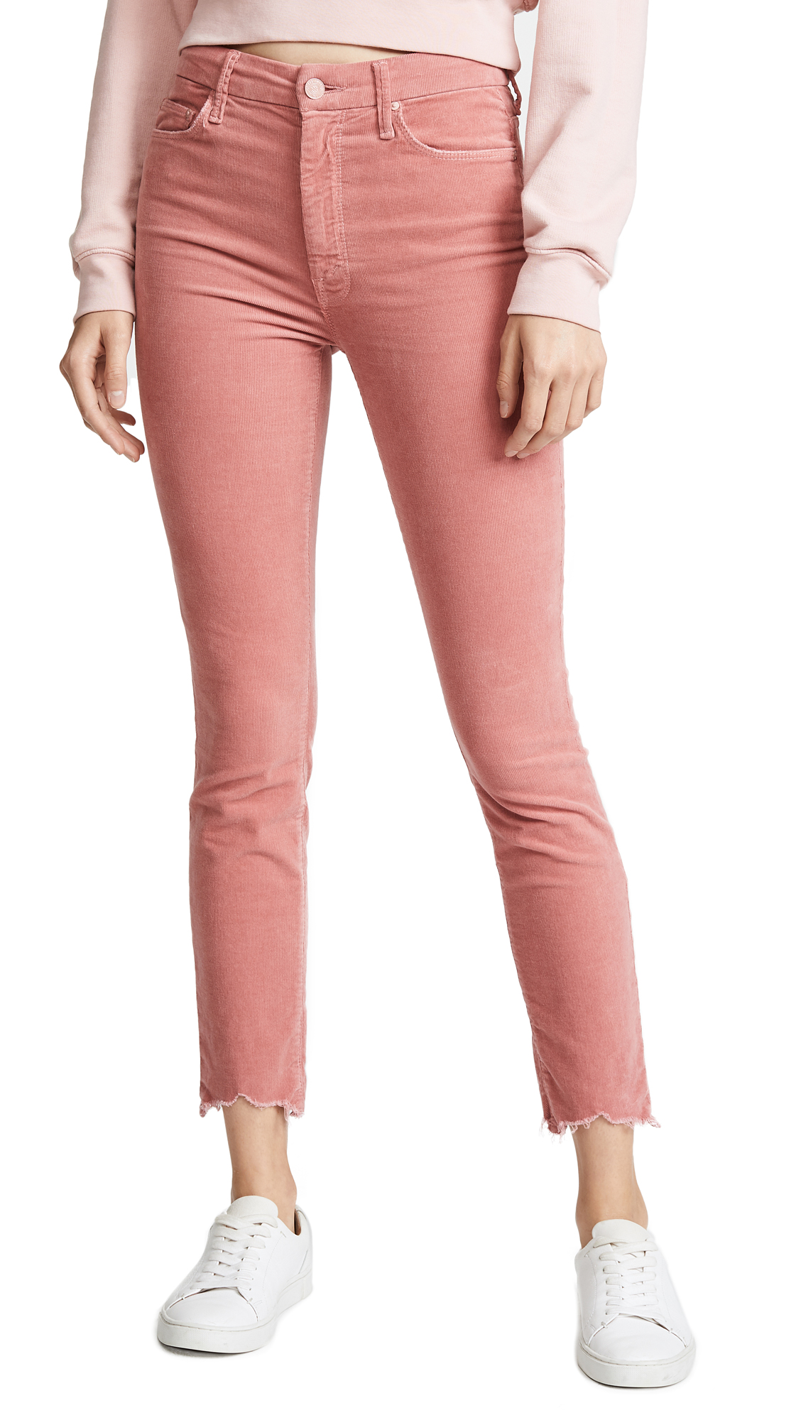 HIGH WAISTED LOOKER ANKLE CHEW PANTS
