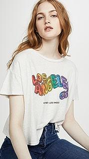 MOTHER Укороченная футболка High Sparrow