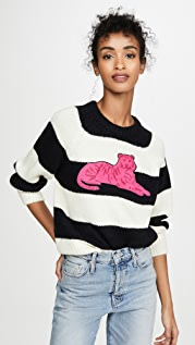 MOTHER The Boat Sqaure Jumper Alpaca Pull Over