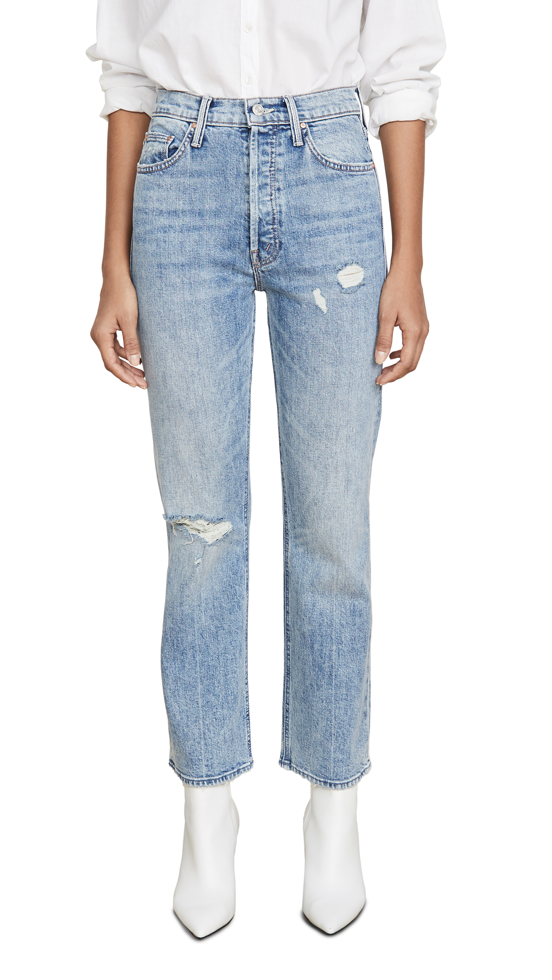Buy MOTHER online - photo of MOTHER MOTHER Superior The Tripper Jeans