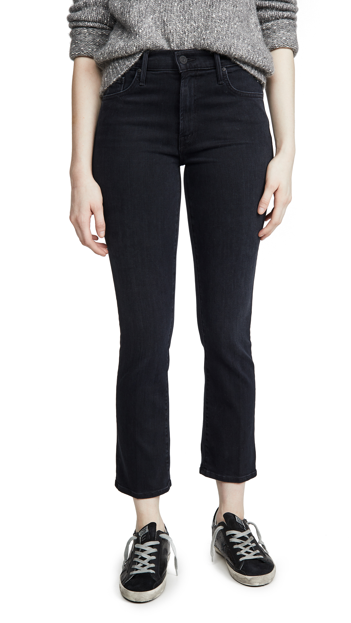 Buy MOTHER online - photo of MOTHER The Insider Ankle Jeans