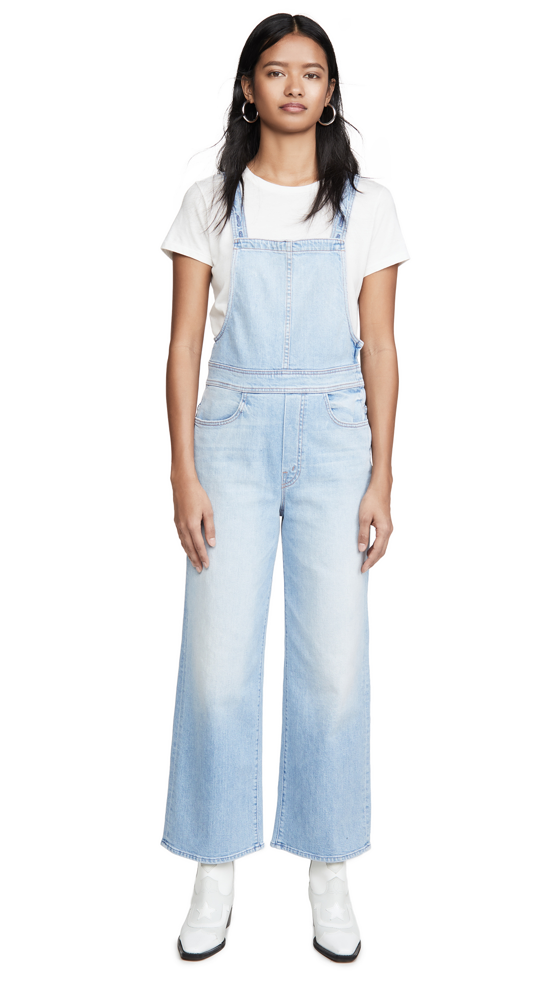Buy MOTHER online - photo of MOTHER MOTHER Superior The Greaser Overalls Ankle