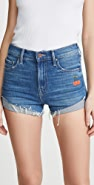 MOTHER The Rascal Slit Flip Shorts