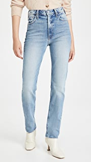 MOTHER MOTHER Superior High Waisted Rider Skimp Jeans
