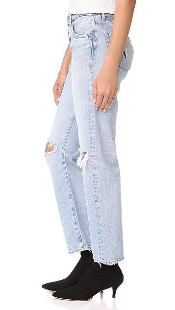 MOUSSY MV Mesa Straight Leg Jeans