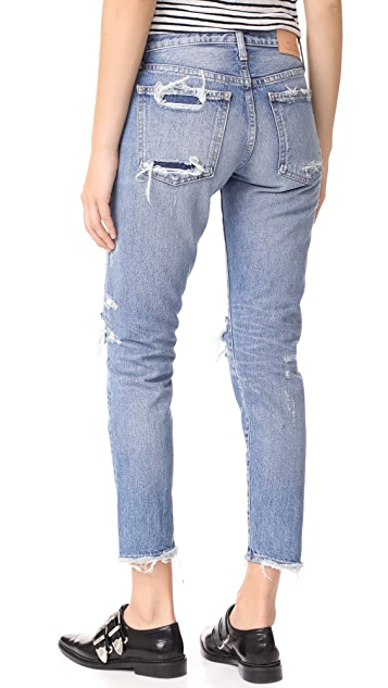 MOUSSY MV Amber Tapered Jeans