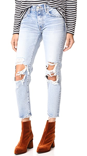 MOUSSY MV May Tapered Jeans