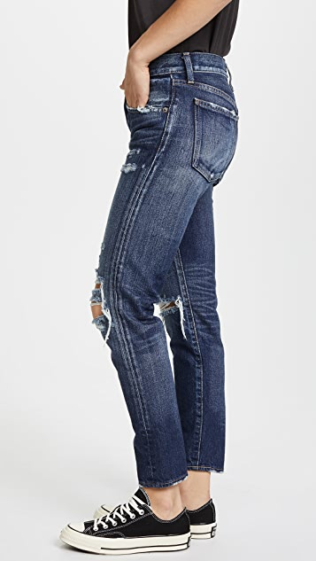 MOUSSY MV Denver Tapered Jeans