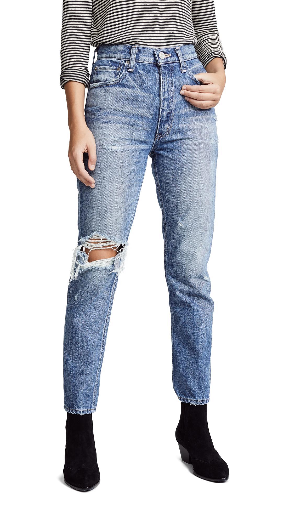 Mv Marshall Boy Skinny Jeans in Blue