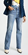 MOUSSY VINTAGE MV Luna Straight Flare Jeans