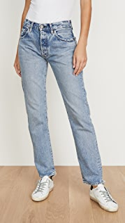 MOUSSY VINTAGE Norwalk Straight Jeans