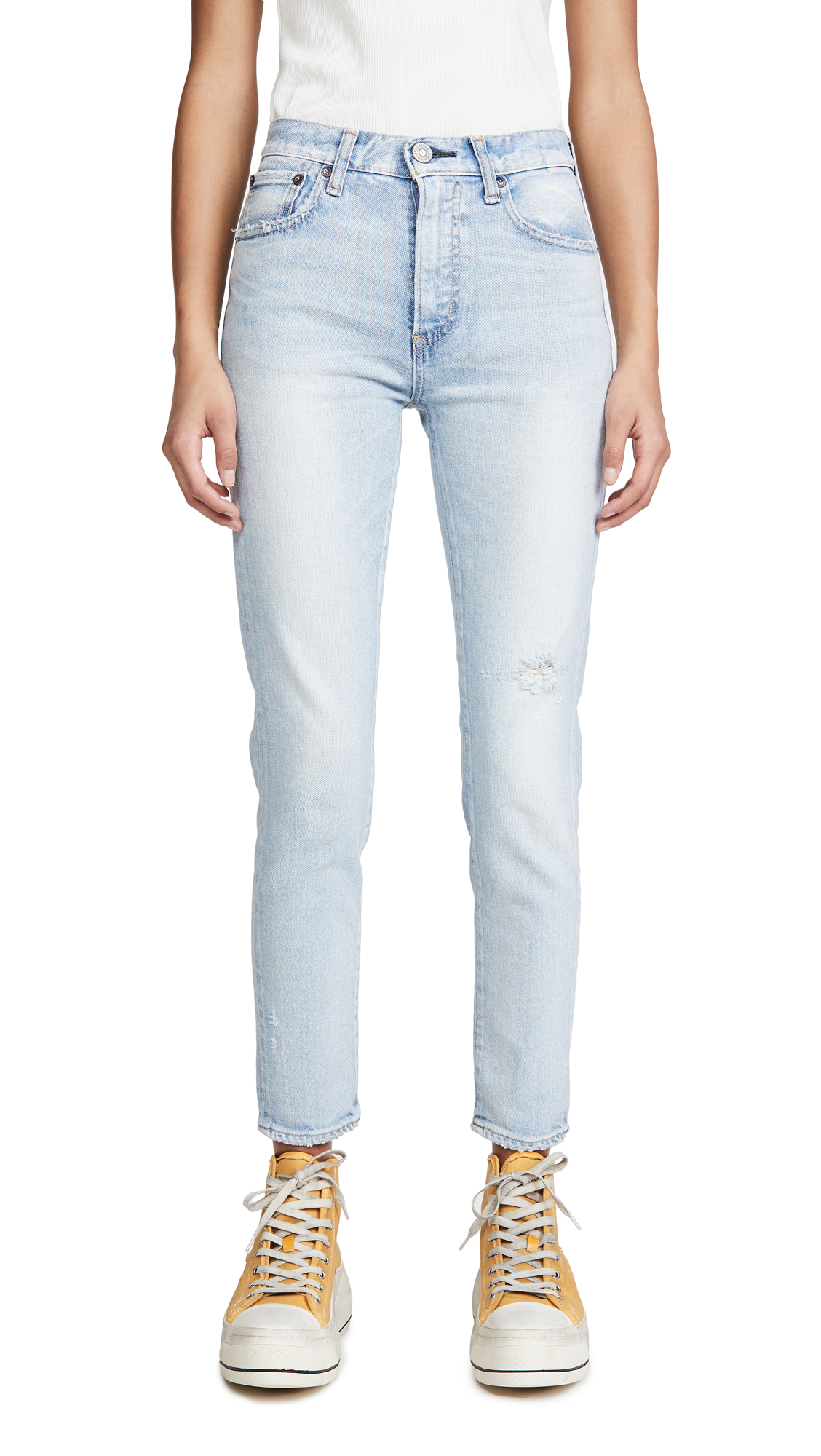Buy MOUSSY VINTAGE online - photo of MOUSSY VINTAGE Hillrose Skinny Jeans