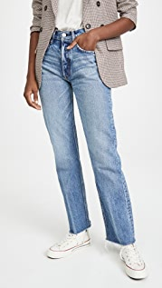 MOUSSY VINTAGE Ashley's Wide Straight Jeans