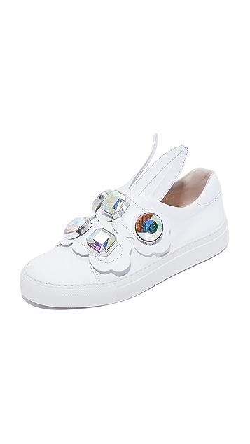 Minna Parikka Crystal Bunny Sneakers