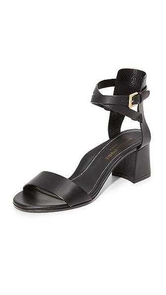 Marion Parke Brett City Sandals - Black