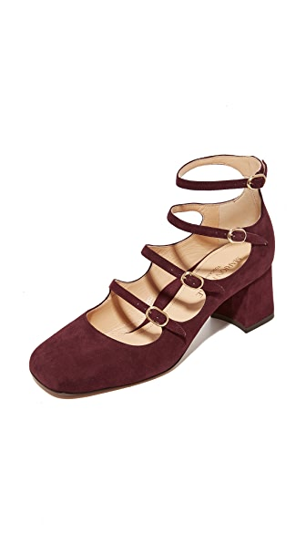 Marion Parke Suzy Pumps - Shiraz