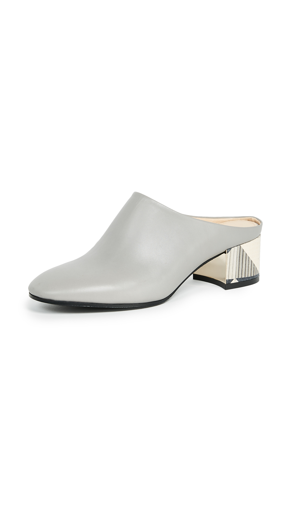 Marion Parke Gibson Mules - Slate