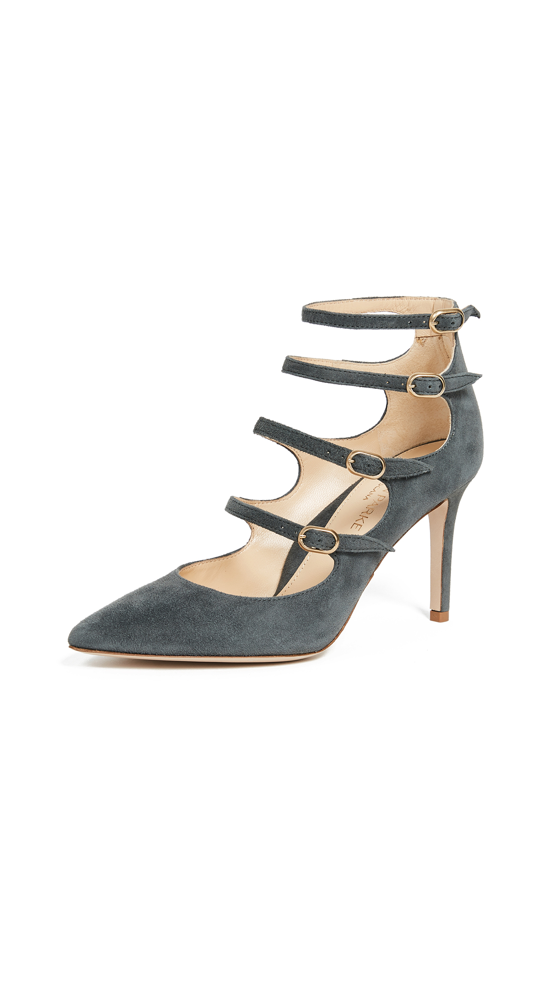 Marion Parke Mitchell Pumps - Stone